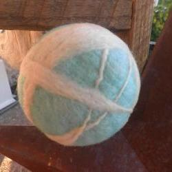 Wool Dryer Balls, unscented, Ready to go set! Set of 4. Toy set, home decor, eco friendly.